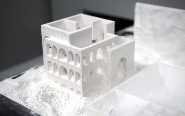 impresión 3D sinterizado