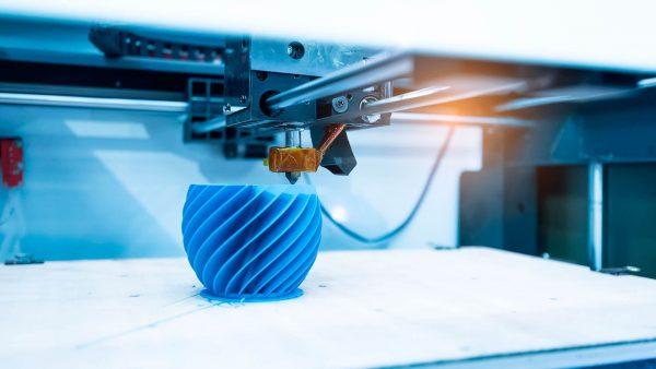 fabricación aditiva de plástico
